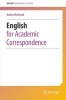 Adrian Wallwork,English for Academic Correspondence
