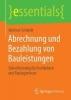 Schmidt, Andreas,Abrechnung und Bezahlung von Bauleistungen