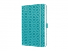 ,<b>weekagenda Sigel Jolie Flair A5 2018 hardcover turquoise</b>