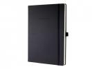,notitieboek Sigel Conceptum Pure hardcover A5 zwart geruit