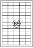 ,Etiket Quantore 38x21.2mm 6500stuks