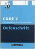 ,Code 2 Oefenschrift