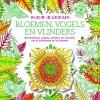 ,Kleur je origami - Bloemen, vogels en vlinders