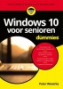 <b>Peter  Weverka</b>,Windows 10 voor senioren voor Dummies