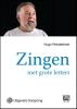 Hugo  Pinksterboer,Zingen met grote letter - grote letter uitgave