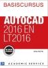 <b>Harold  Weistra</b>,Basiscursus AutoCAD 2016 en LT2016