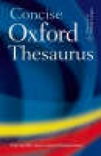 Oxford Concise Oxford Thesaurus