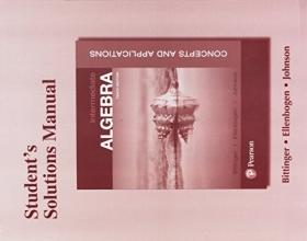 Marvin L. Bittinger,   David J. Ellenbogen,   Barbara L. Johnson Student`s Solutions Manual for Intermediate Algebra