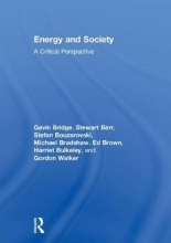 Bridge, Gavin Energy and Society