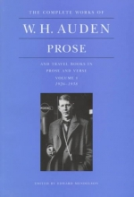 Auden, W. H. Prose and Travel Books in Prose and Verse
