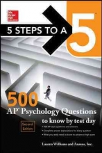 Williams, Lauren 5 Steps to A 5 500 AP Psychology Questions to Know by Test Day