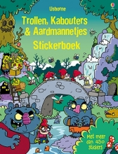 Trollen, kabouters en aardmannetjes stickerboek
