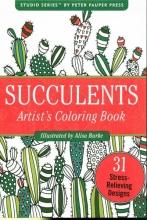 Color Bk Small Succulents