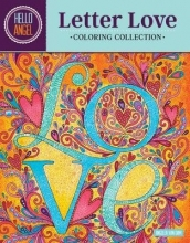 Angelea Van Dam Hello Angel Letter Love Coloring Collection