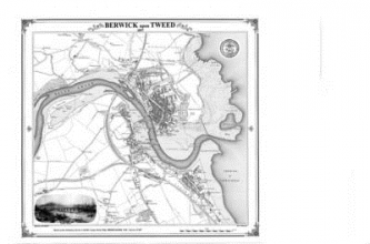 Berwick-upon-Tweed 1857 Map