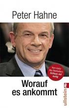 Hahne, Peter Worauf es ankommt