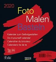 Foto-Malen-Basteln Bastelkalender schwarz 2020