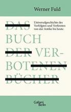 Fuld, Werner Das Buch der verbotenen Bücher
