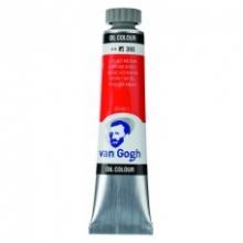 , Talens van gogh olieverf tube 20 ml azorood middel 393