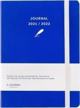 , A-Journal Schoolagenda 2021/2022 - Donkerblauw