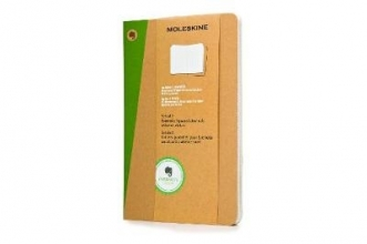 Large Squared Kraft Soft Evernote Journal With Smart Sticker