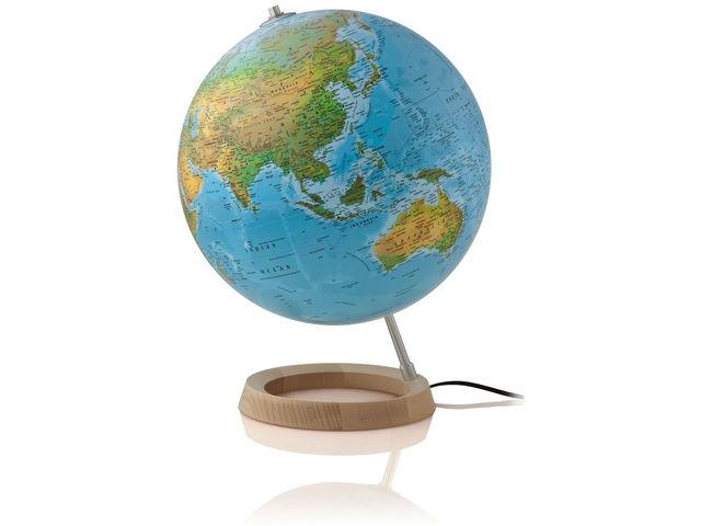 ,Globe full circle blauw