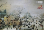<b>Puz-383</b>,Puzzel winter - hendrick averkamp 1000
