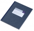 ,<b>Register breedkwarto a1012-256 96blad blauw</b>