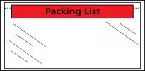 , paklijstenvelop binnenmaat 225x165mm A5 50 micron           packinglist 1000 stuks