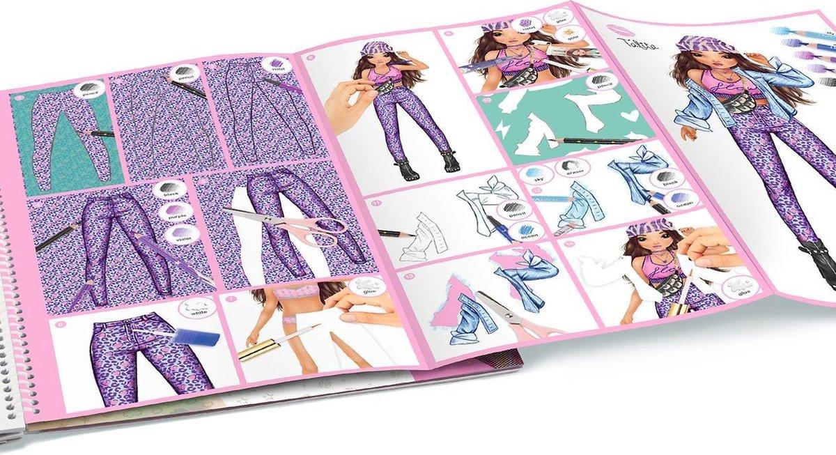 11253 a,Topmodel special design kleurboek talita & lucy