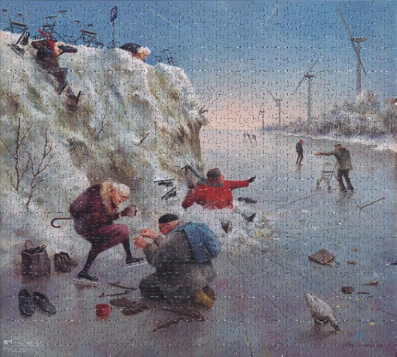 ,Marius van Dokkum - IJspret