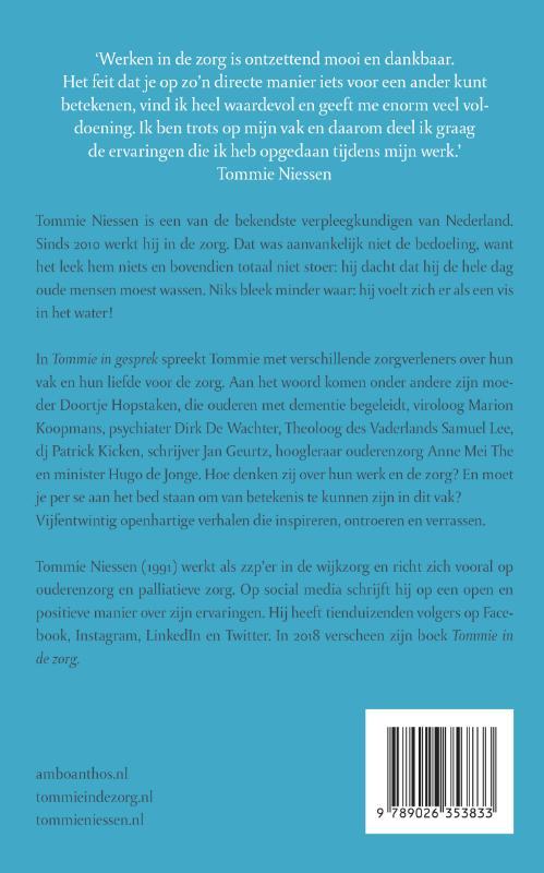 Tommie Niessen, Marian Rijk,Tommie in gesprek