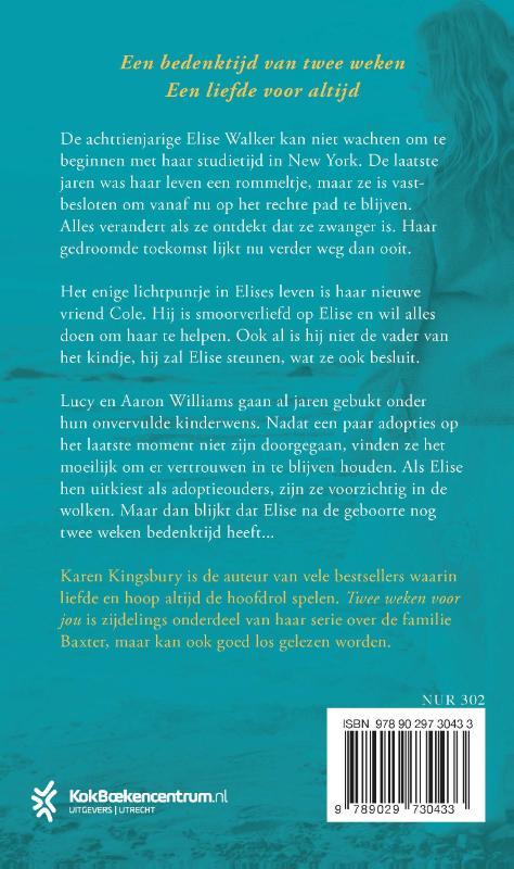 Karen Kingsbury,Twee weken voor jou