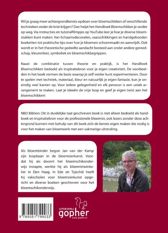 Jan van der Kamp,Handboek bloemschikken