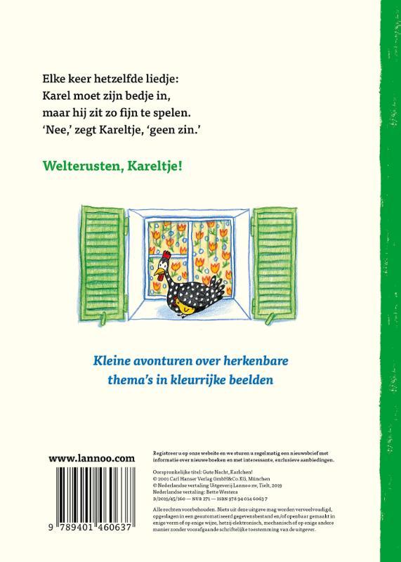 Rotraut Susanne Berner,Welterusten Kareltje