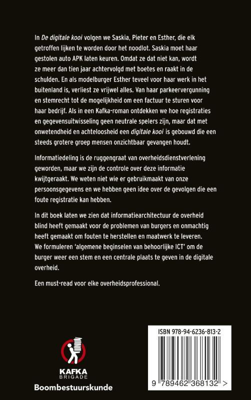 Arjan Widlak, Rik Peeters,De digitale kooi