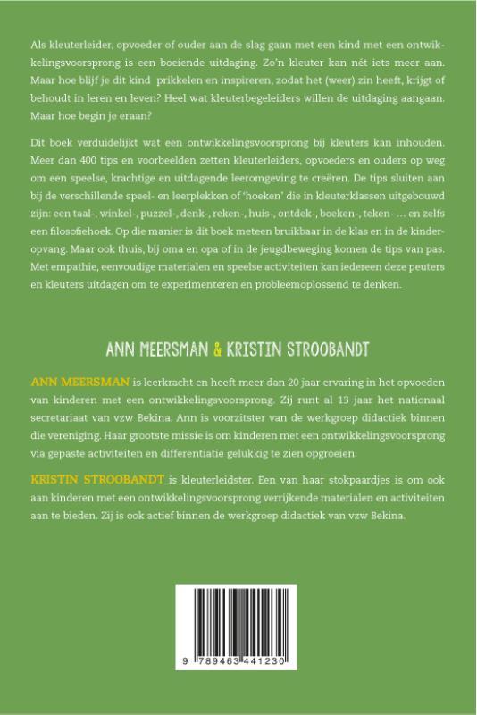 Ann Meersman, Kristin Stroobandt,Kleuters die nét iets meer kunnen