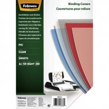 , Voorblad Fellowes A4 PVC 300micron 100stuks