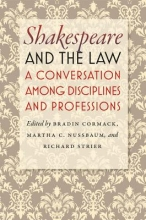 Cormack, Bradin Shakespeare and the Law - A Conversation among Disciplines and Professions