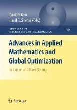 David Yang Gao,   Hanif D. Sherali Advances in Applied Mathematics and Global Optimization