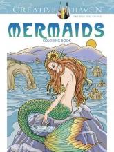 Barbara Lanza Creative Haven Mermaids Coloring Book