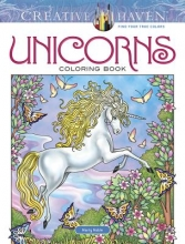 Marty Noble Creative Haven Unicorns Coloring Book