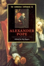 Pat (University of South Florida) Rogers The Cambridge Companion to Alexander Pope