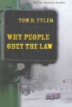 Tyler, Tom R. Why People Obey the Law