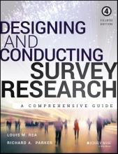 Louis M. Rea,   Richard A. Parker Designing and Conducting Survey Research
