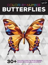 Color-by-Number Butterflies