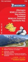 , Michelin 719 Duits/Oost/Tsjech/BeNeLux