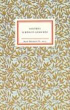 Goethe, Johann Wolfgang von Goethes schönste Gedichte