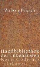 Braun, Volker Handbibliothek der Unbehausten