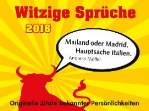Witzige Sprche! 2016